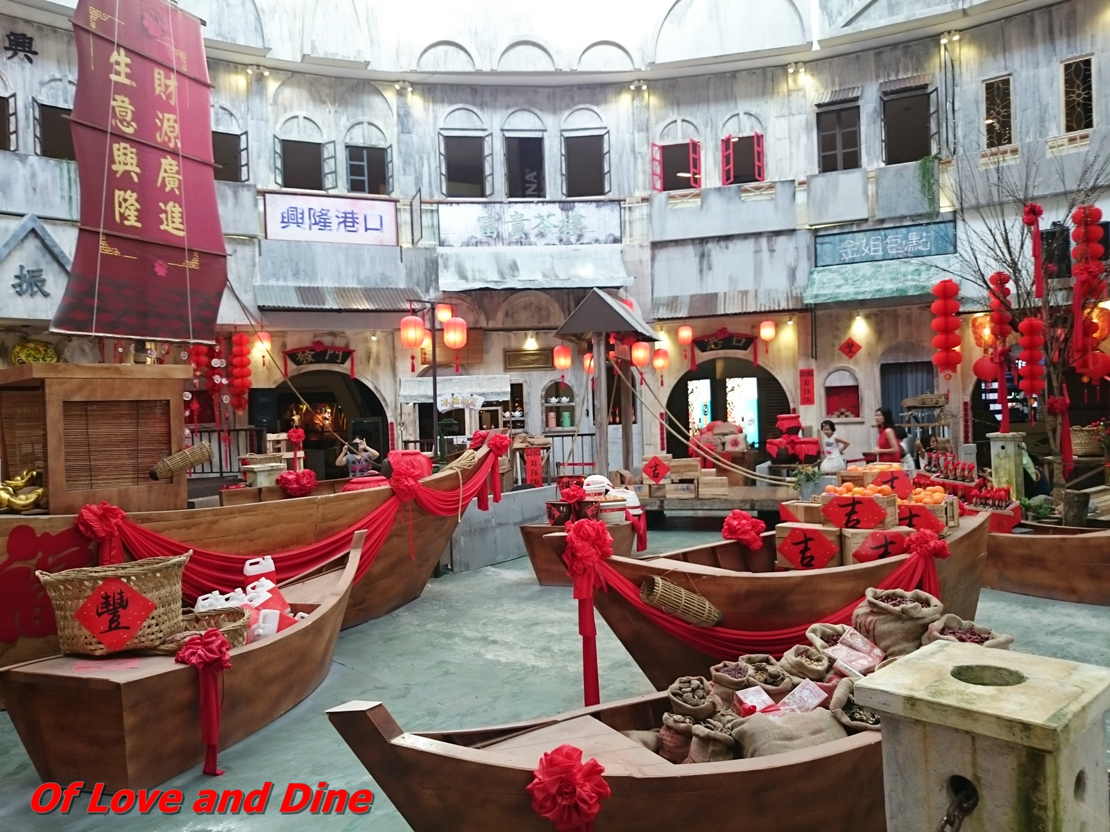 of Love n Dine 2: Queensbay Mall CNY Deco