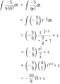 Pembahasan soal integral nomor 7