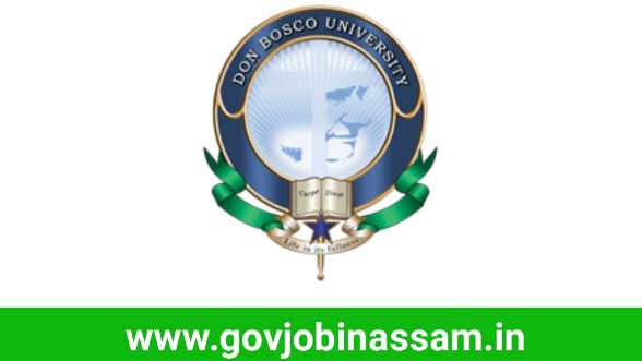 Assam Don Bosco University Recruitment 2018
