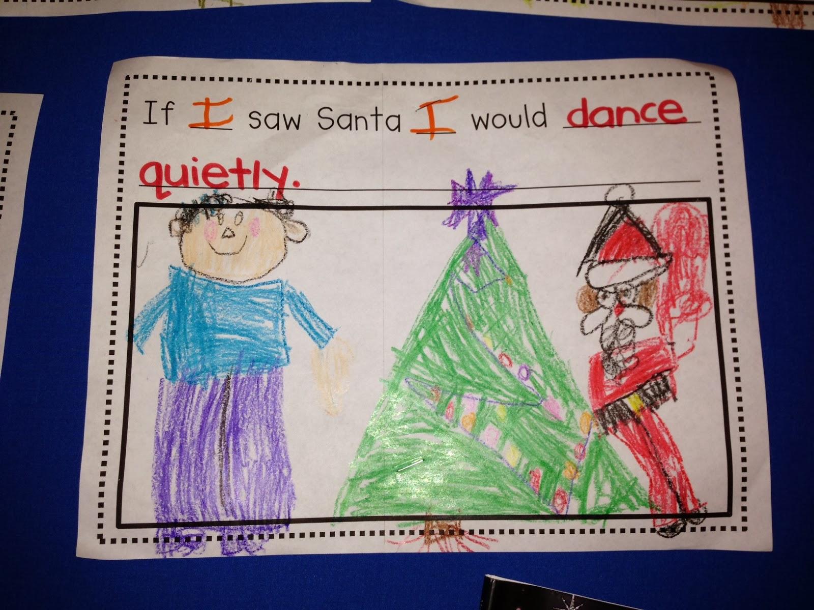 Chalk Talk A Kindergarten Blog The Night Before Christmas