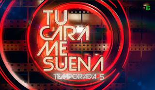 Logo de la quinta temporada de 'Tu cara me suena'