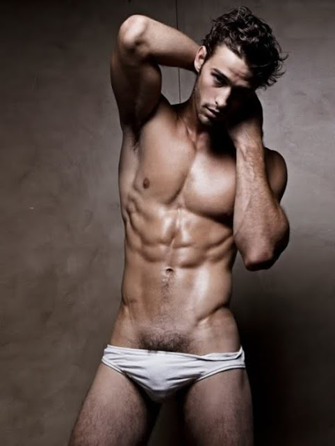 Sexy Abs Of Male Models  Fashion Of Mens Underwear-1628