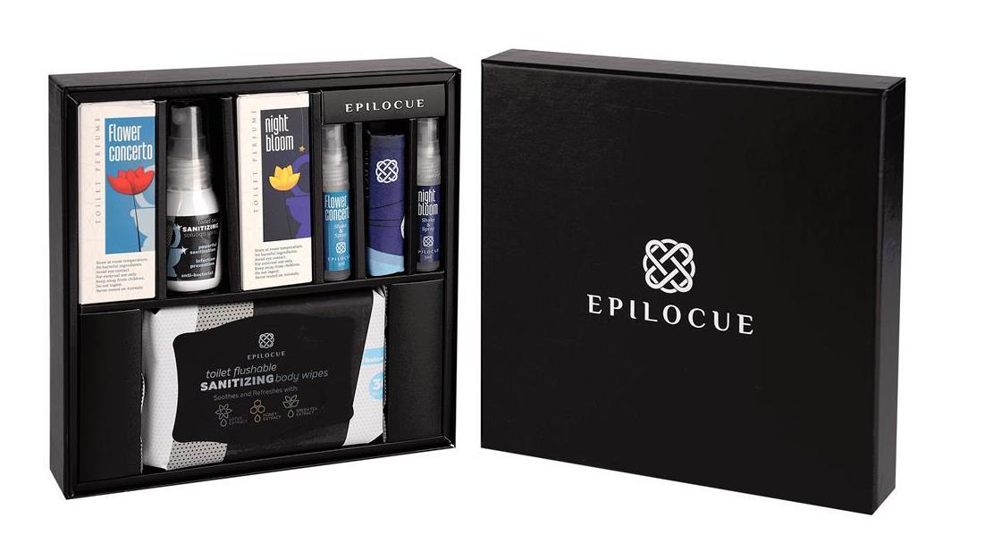 Epilocue Toilet Perfume Set
