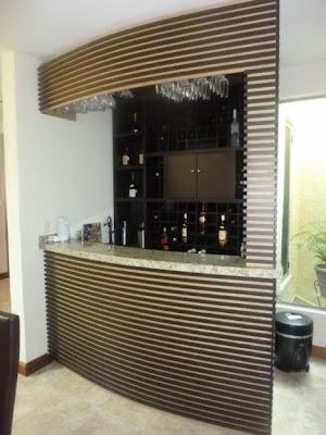 Dise o de bares interiores por paulina aguirre blog de for Barras para departamentos pequenos