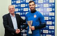 Βραβεύθηκε ο Μιλιβόγεβιτς ως ο πολυτιμότερος παίκτης της 8ης αγωνιστικής της superleague