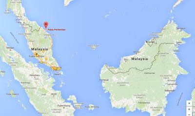 Perhentian Island at Terengganu, Malaysia.