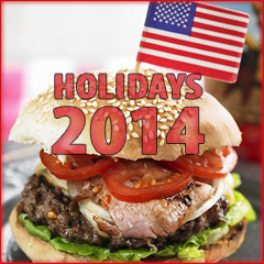 USA Holidays List for 2014
