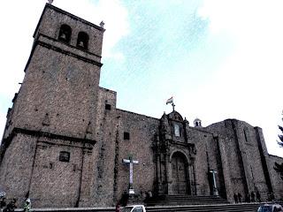 Fachada da Iglesia de San Francisco, em Cusco