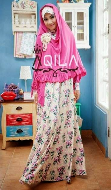 Model baju muslim syar'i terbaik