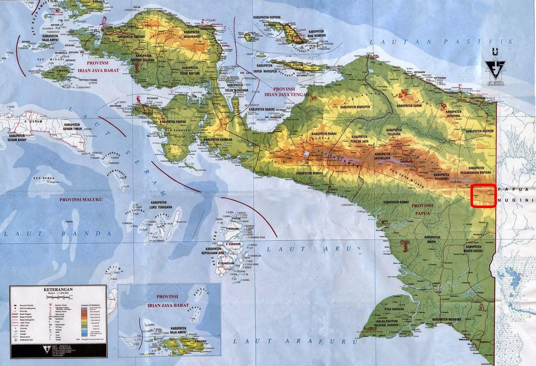 Batas Indonesia bagian Timur