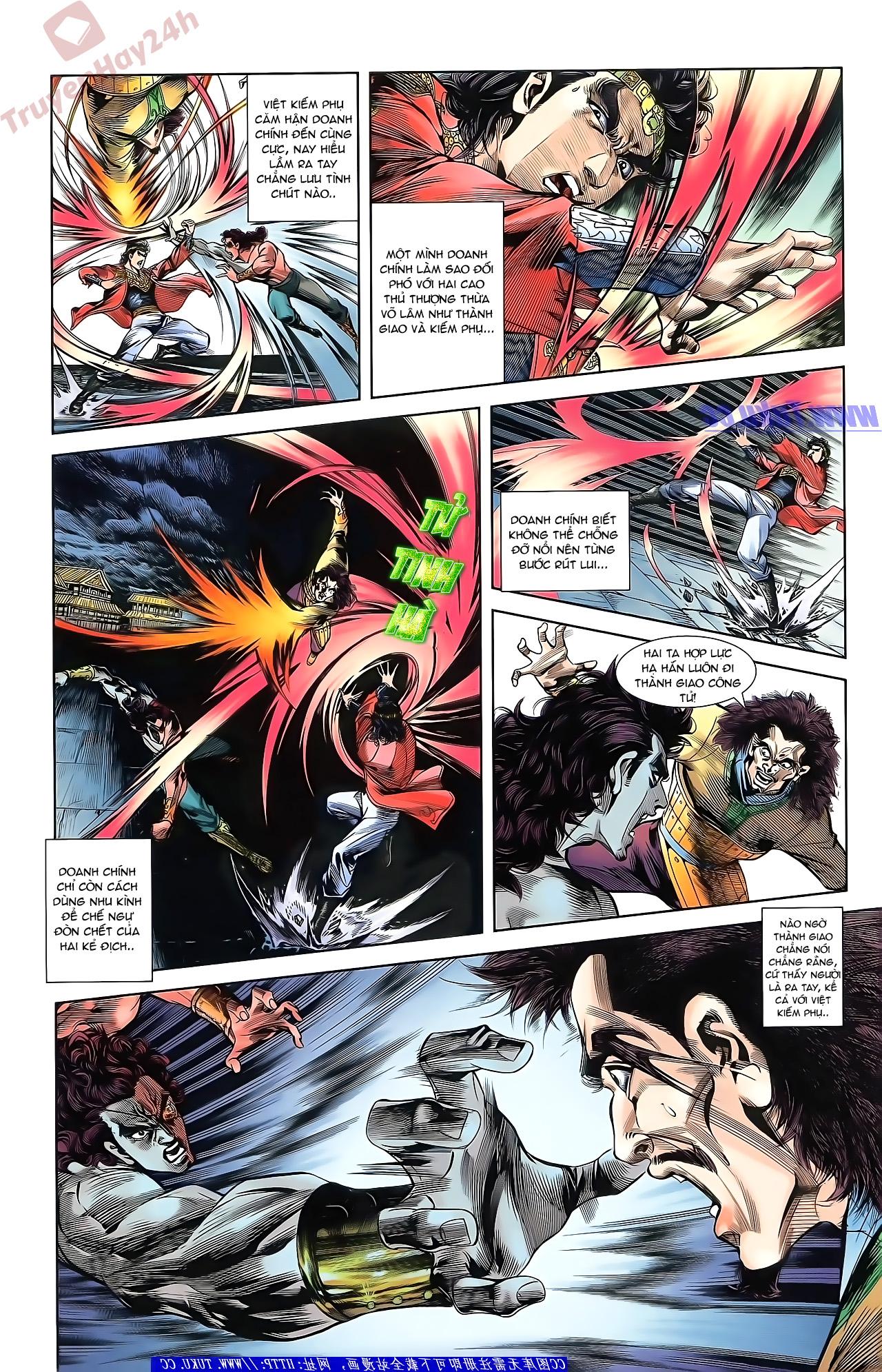 Tần Vương Doanh Chính chapter 51 trang 5