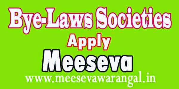 bye-laws of Societies Copy Apply in Meeseva