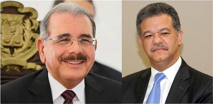 Danilo y Leonel coincidirán en NY a finales de septiembre; mandatario en ONU y ex con agenda cultural y recaudatoria