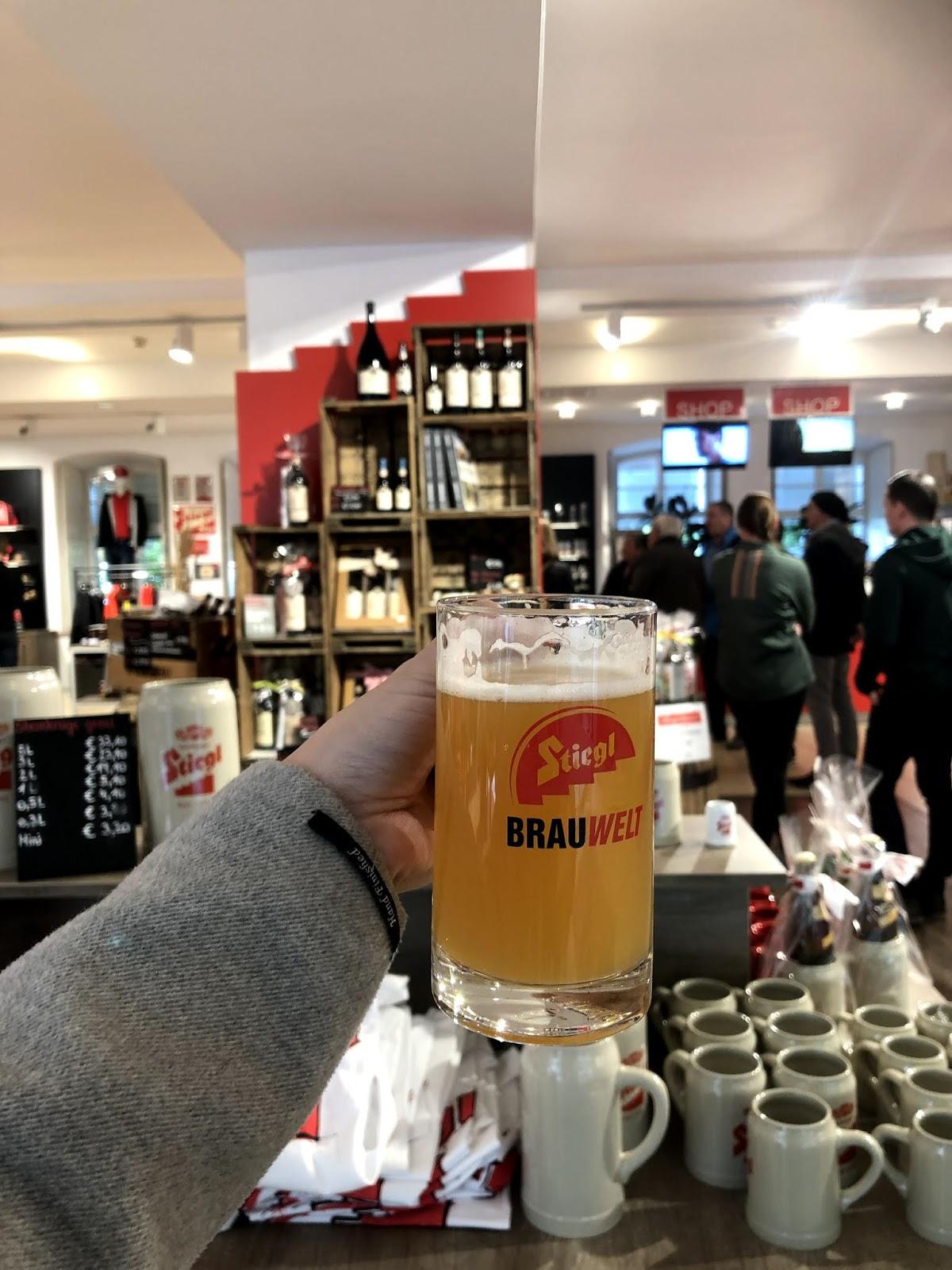 salzburg itinerary Stiegl Beer Museum