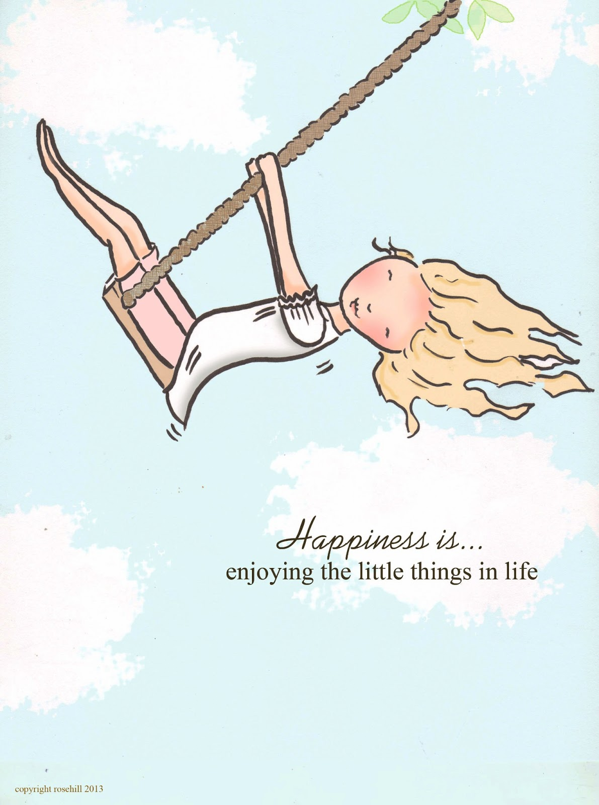 Rose Hill Designs: Happiness is.....