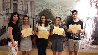 1ο βραβείο σε μαθητές του 7ου Γυμνασίου στον 3ο διαγωνισμό «Κοινωνική, πνευματική και εθνική ζωή στη Μακεδονία και τη Θράκη».