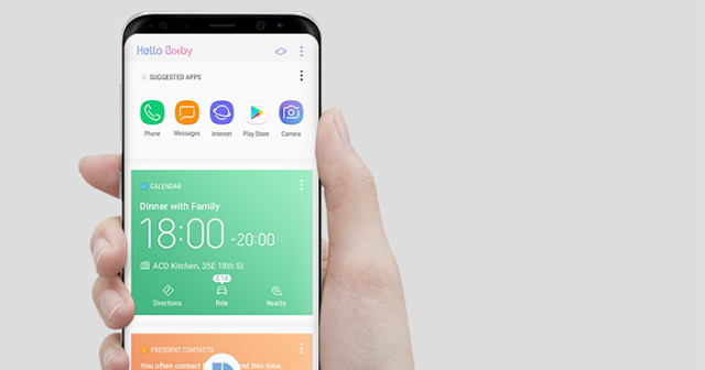 latest tech news - Samsung opens the Bixby application