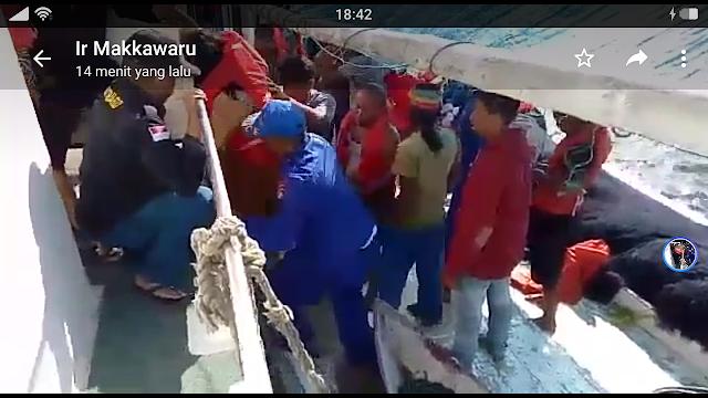 KM. Fungka Permata III ,Tenggelam, 27 Orang Diatas, Kapal, Berhasil Di Selamatkan