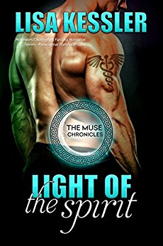 Light of the Spirit (The Muse Chronicles #4) by Lisa Kessler (PNR)