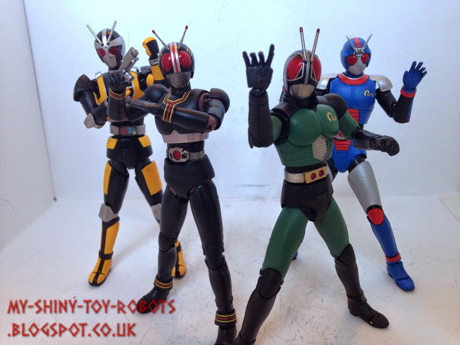 My Shiny Toy Robots: Toybox REVIEW: S H  Figuarts Biorider