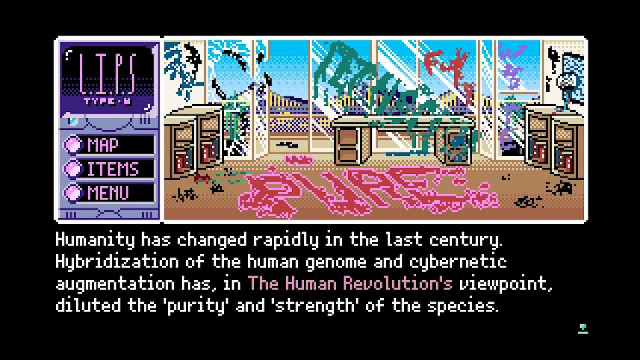 2064: Read Only Memories on PlayStation 4