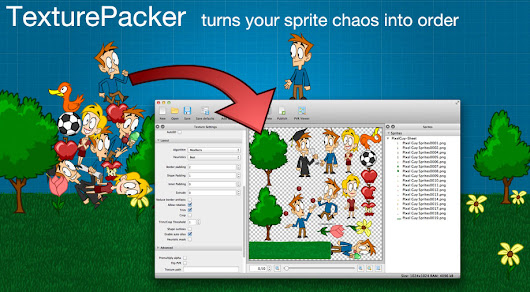 TexturePacker : Excellent tool for creating sprite sheet and makes game developer's life EASY !!