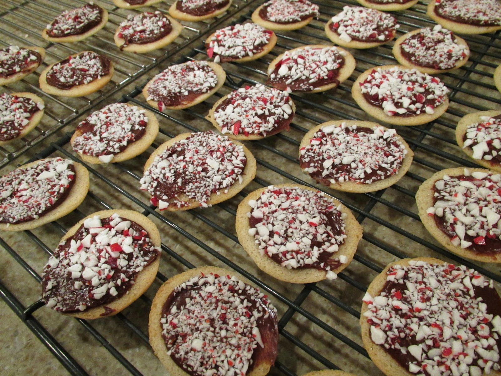 Gluten Free Peppermint Mint Milano Cookies