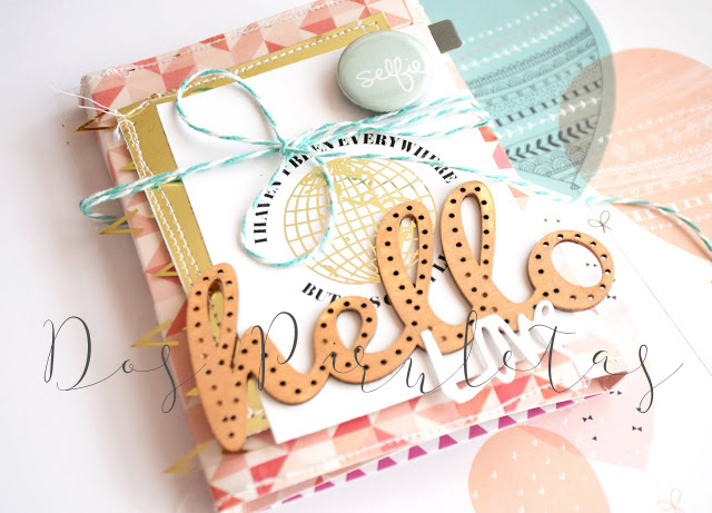 Mini album bebe scrapbooking