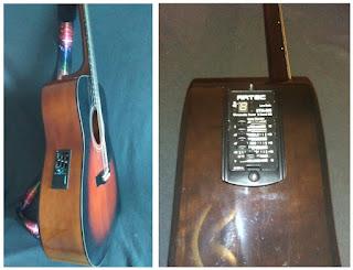 гитара с пьезо-датчиком