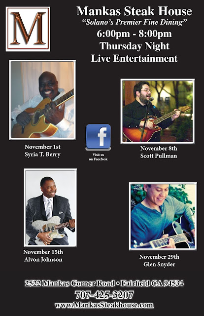 Live Entertainment Thursdays - Glen Snyder Tomorrow Night!