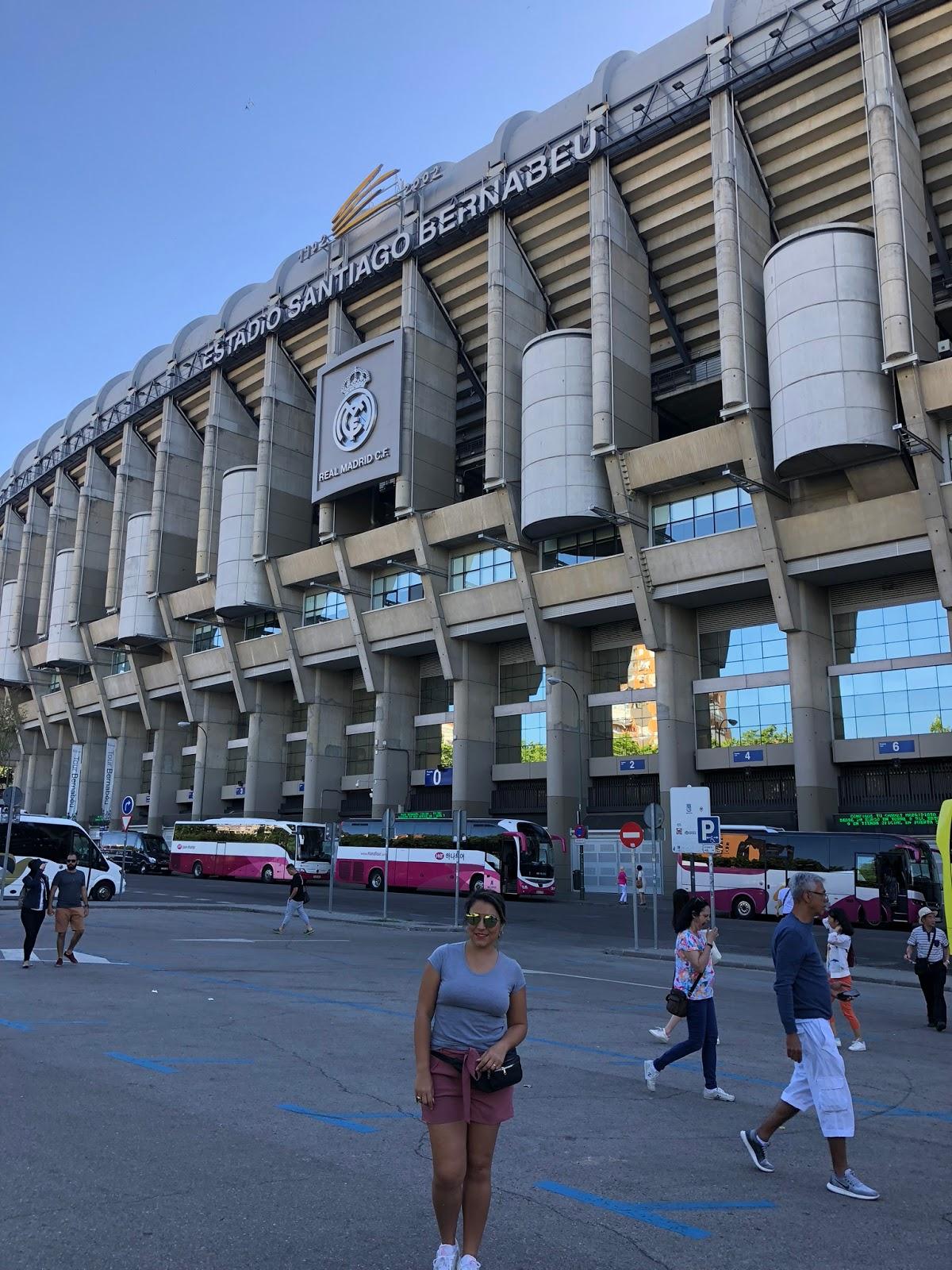 Um dia em Madri, Espanha
