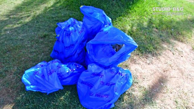 Εθελοντικός καθαρισμός της παραλίας Νέας Κίου από μαθητές  του ΕΕΕΕΚ Αργολίδας (βίντεο)