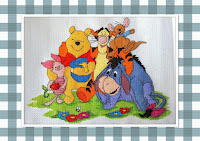 Pooh's Group Hug