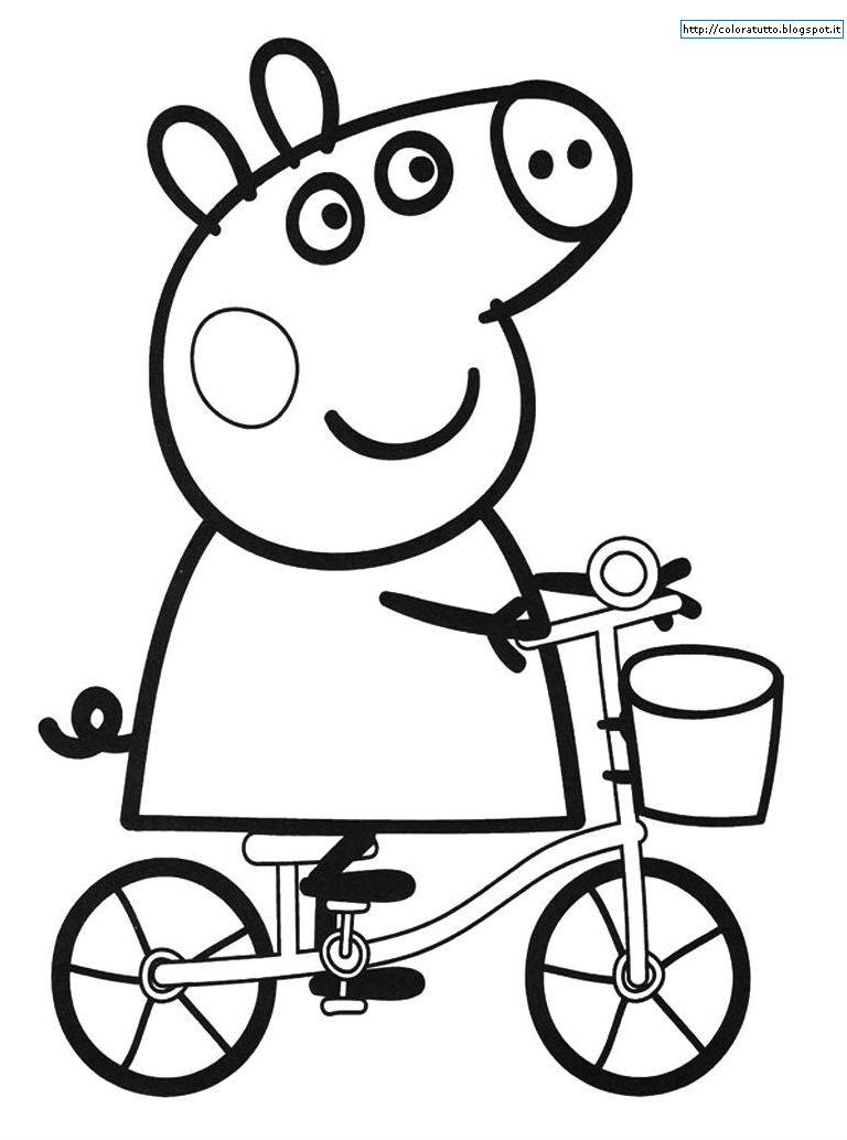 Peppa pig disegno da colorare n 9 for Peppa pig disegni da colorare