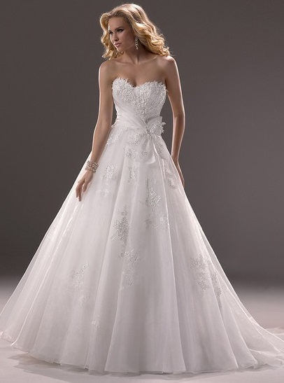 http://www.dressfashion.co.uk/product/princess-sweetheart-white-organza-appliques-lace-hot-wedding-dresses-00020378-4670.html? Utm_source = minipost y utm_medium = 1,174 y = utm_campaign el blog