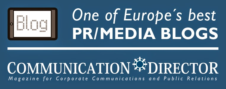 One of Europe's Best PR/Media Blogs