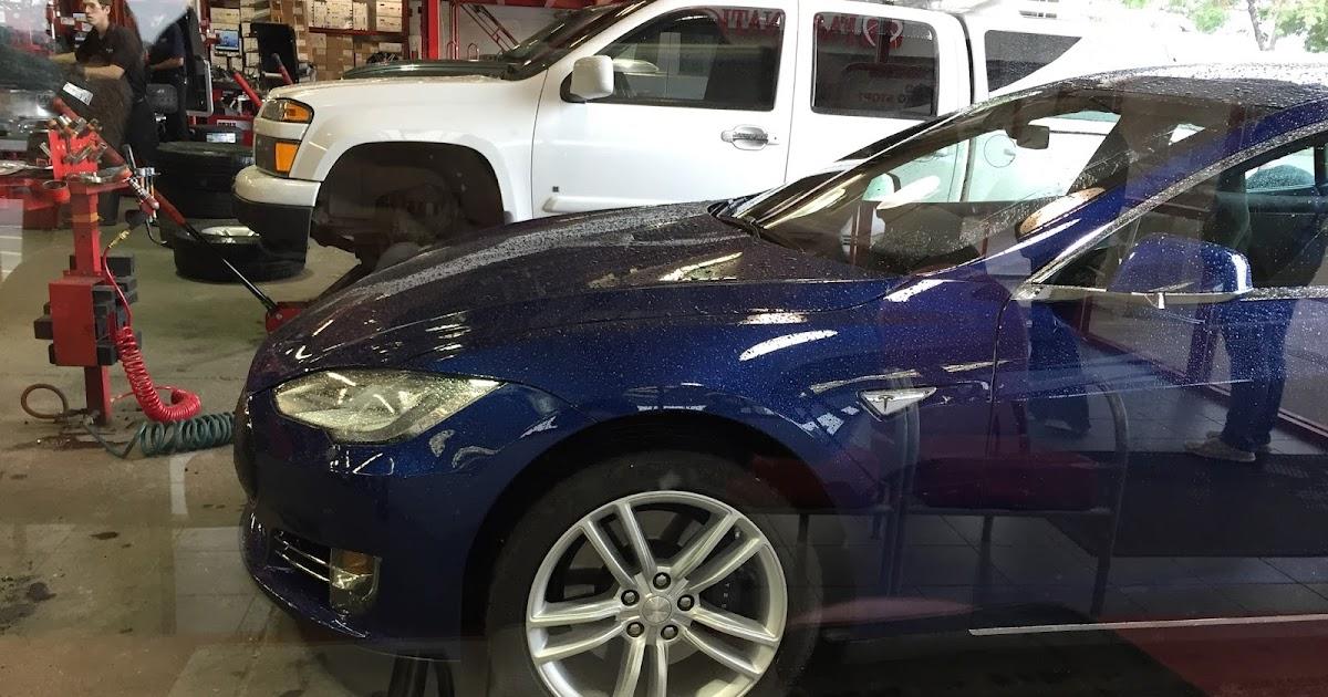 Colorado Springs EV Club: New favorite Tesla tire place!