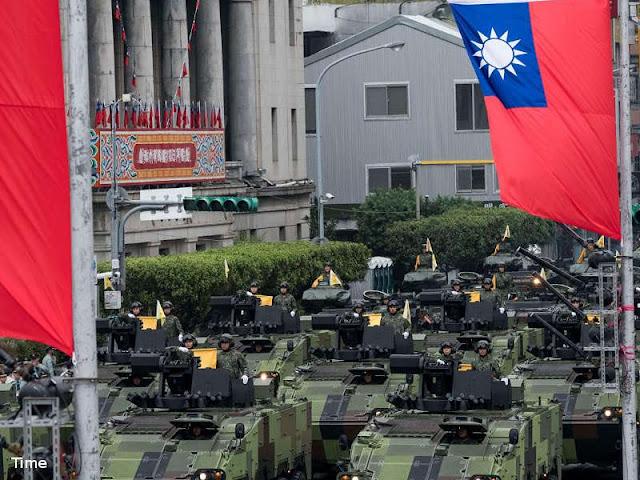 Penjualan Peralatan Militer Amerika Serikat ke Taiwan Timbulkan Protes