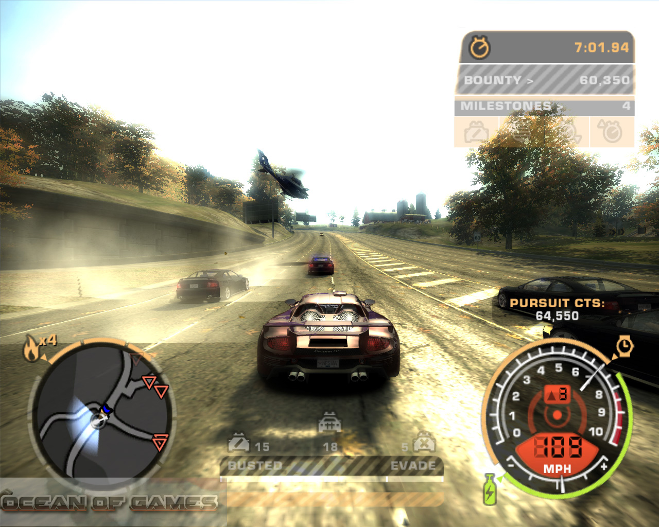 Need For Speed Most Wanted Black Edition Free Download - Ocean Of Games