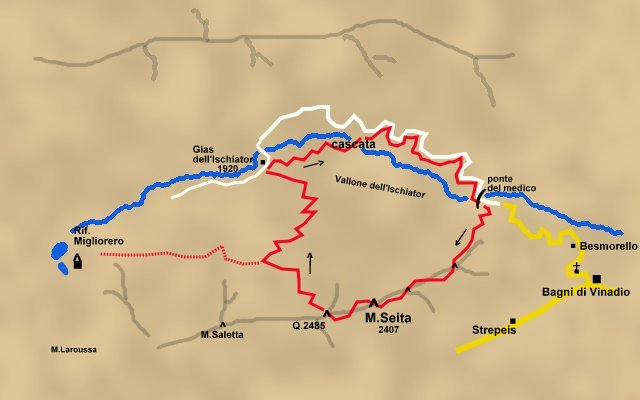 MUNTAeCHINNA TREKKING: Monte Seita
