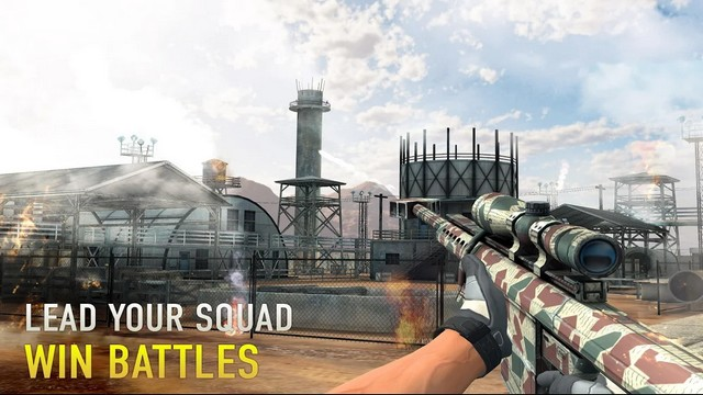 sniper arena: pvp army shooter hileli apk indir