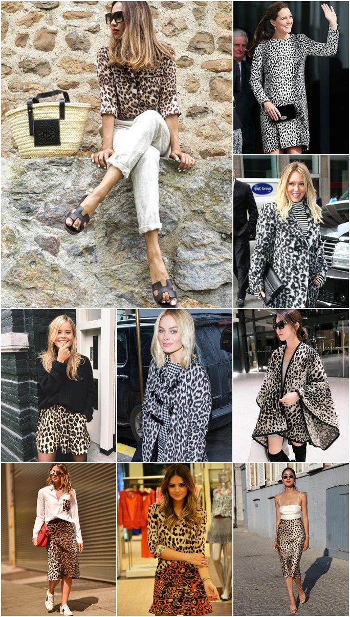 Looks com estampa de oncinha ou leopard print