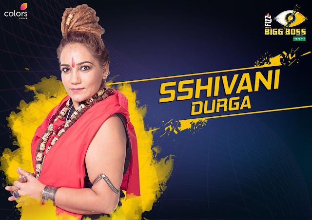 Sshivani Durgah (Bigg Boss 11 Contestant)