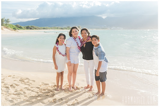Anchors Away - The Morales Family's Maui Portraits