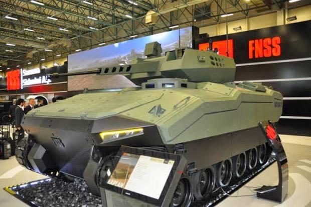 Tank Medium Buatan Pindad - FNSS Turki Akan Diperkenalkan Tahun 2017
