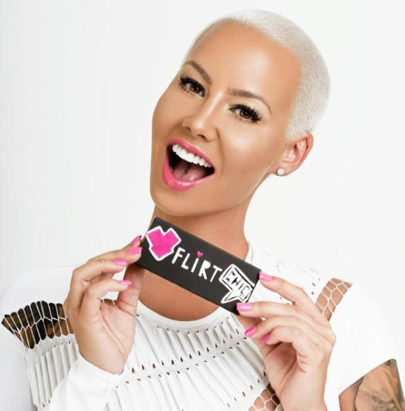 Amber Rose covers frontpage of Vogue Magazine