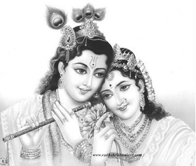 Radha Krishna Clipart