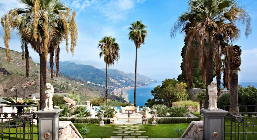 The Ashbee Hotel in Taormina