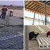 تقنية جديدة في البناء | صب السقف بدون خشب