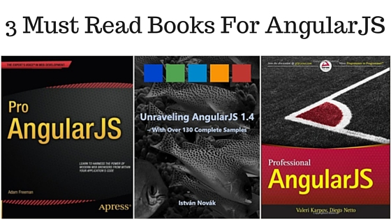 3 Must read books for angularJS